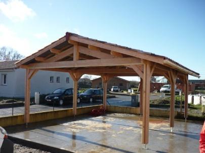 Structures ouvertes en bois
