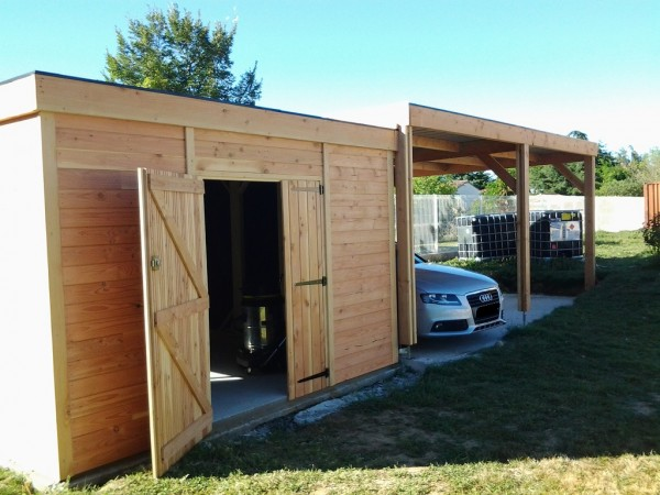 abri d 39 ici abri et structure au nord de toulouse. Black Bedroom Furniture Sets. Home Design Ideas