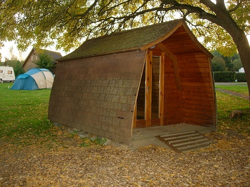 abri forêt de Sherwood (Angleterre)